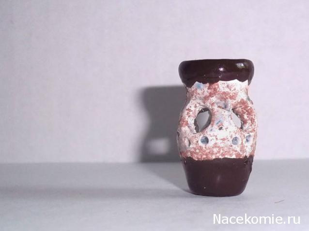 Ваза 1:12 из полимерной глины