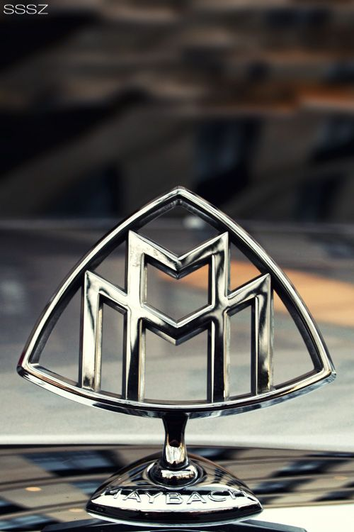 Beautiful shot of the MAYBACH Logo