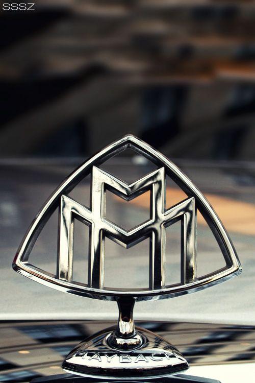 Beautiful Shot Of The Maybach Logo Awesome Maybach