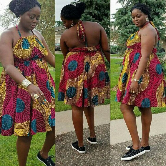 83237cd18b3a12 Online Hub For Fashion Beauty And Health  Lovely And Stylish  Ankara Short  Gown Dress On Sni.