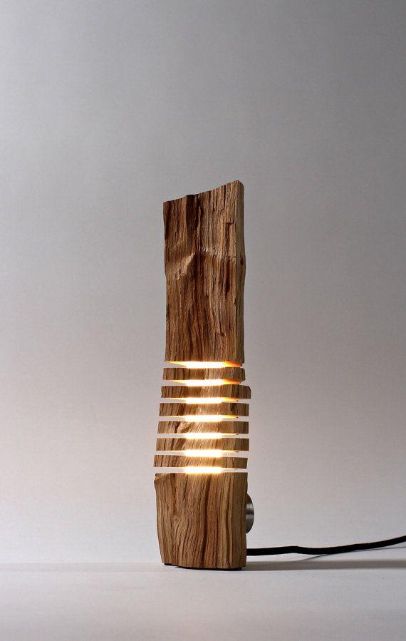 Minimalist Wood Sculpture Fine Art Illuminated Sculpture on Etsy, $450.00