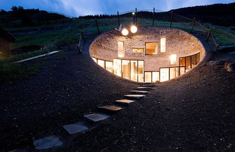 Hill House - Christian Muller ArchitectsChristian, Hobbit Hole, Hobbit Home, Underground Home, Architecture, Mountain Home, Hobbit House, Design, Mountain House