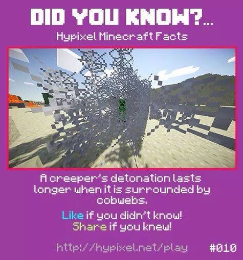 Minecraft did you know #010