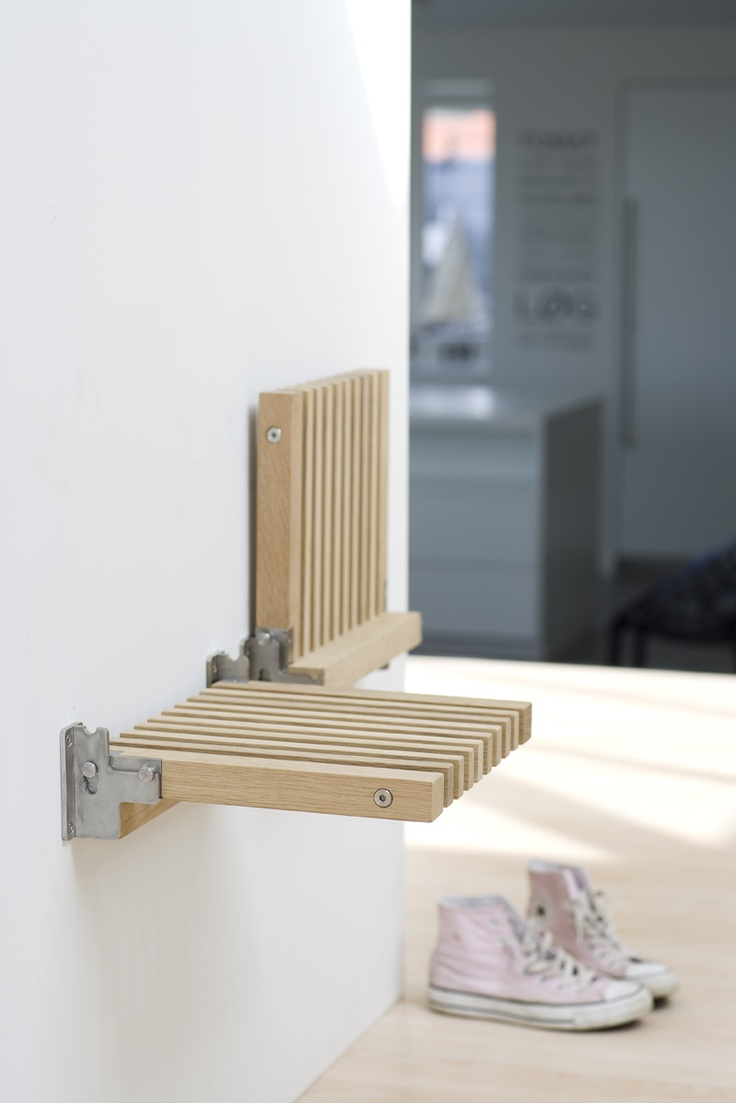 Small space solution Cutter Folding Chair Teak from Skagerak Furniture - Shop at Designshopdenmark.com