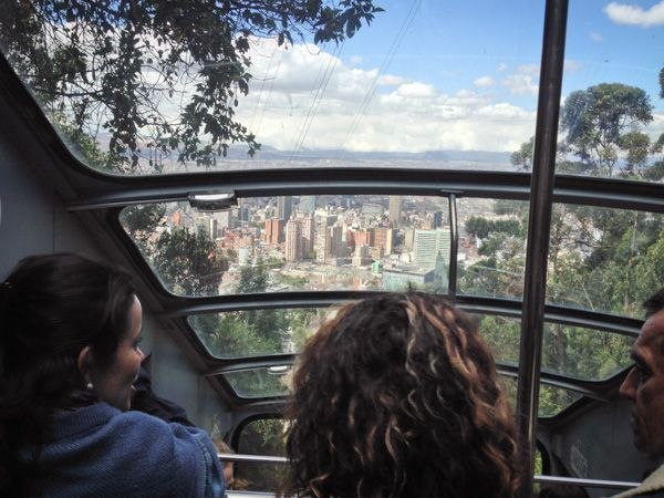 The expansive view from Bogota, Colombia's Monserrate Funicular (Cerro de Monserrate) http://www.everintransit.com/monserrate-funicular-bogota-colombia/ #Bogota #Colombia
