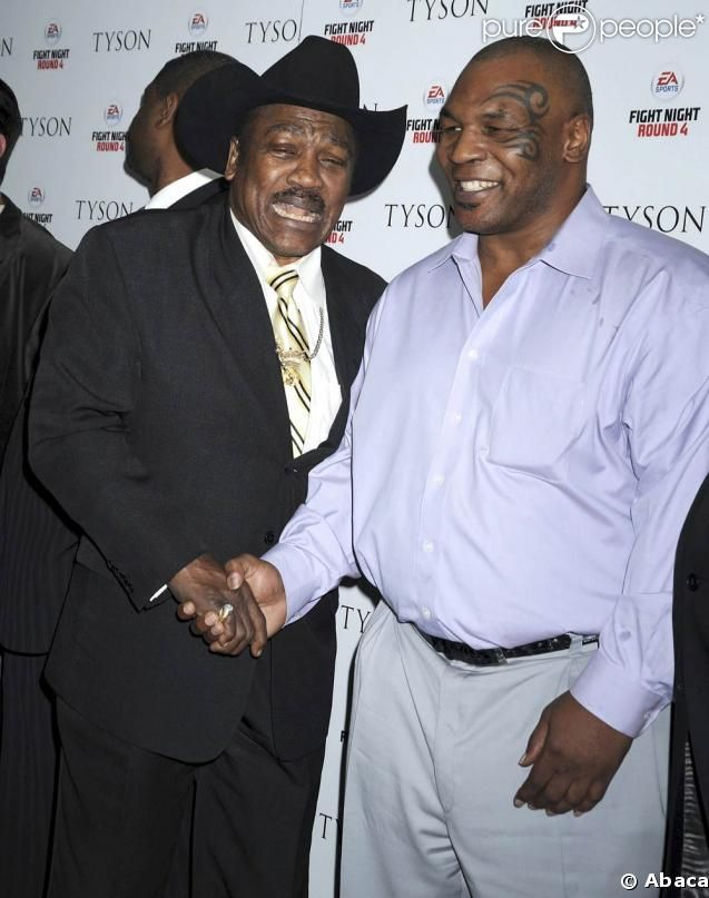 Mike Tyson retrouve Joe Frazier