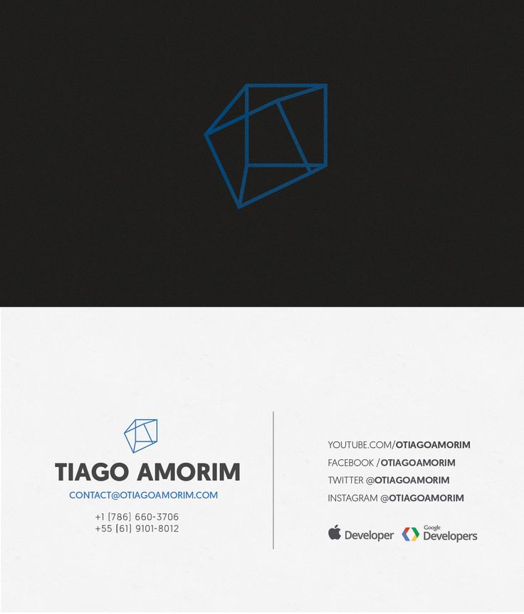 17 best business cards images on pinterest business cards carte business card design by rossen kostov for youtuber businesscard minimal youtuber geometric reheart Image collections