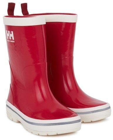 Helly Hansen Red Midsund Wellington Boots