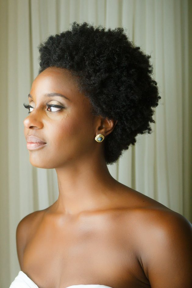 Short Natural Black Hairstyles For Weddings | Hair