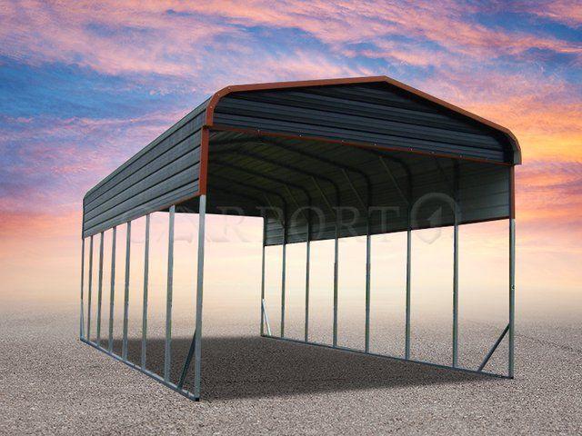 Metal Carports Buy Metal Buildings Online Free Installation And Delivery Rv Cover Metal Carports Custom Metal Buildings