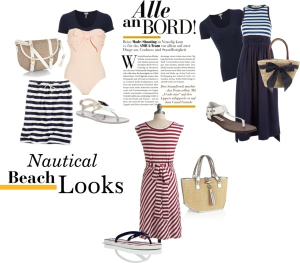 """""""Nautical Beach Looks for Apostolic Girls"""" by sassysolesandmore ❤ liked on Polyvore"""