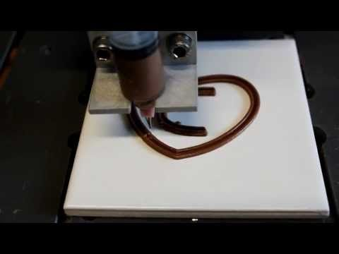 World's first 3D Chocolate Printer, on presale for $3300