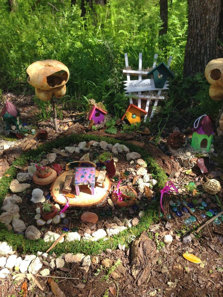 7 Best Images About Fairie Garden On Pinterest | Gardens, Home And