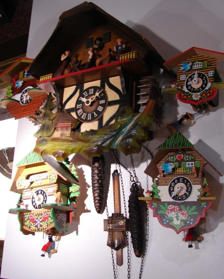 best cuckoo clocks images cuckoo clocks 5 colorful german cuckoo clocks