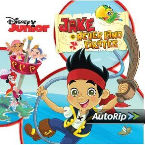 Jake and the Neverland Pirates  #christmas #gift #ideas #present #stocking #santa #music #records
