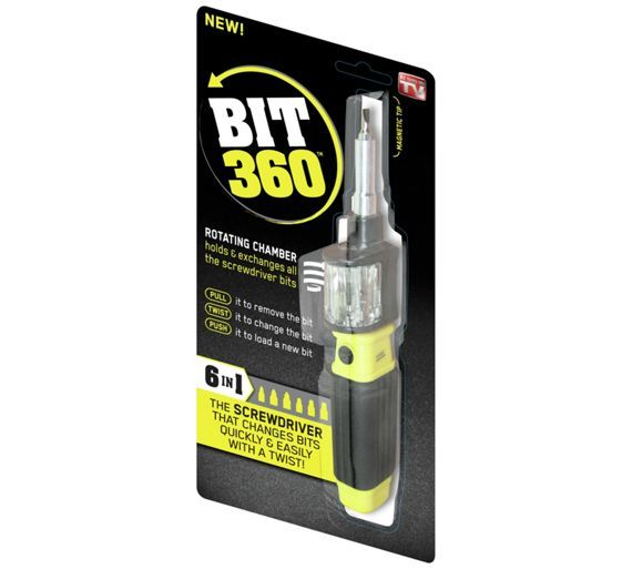 Buy Bit 360 6-in-1 Screwdriver at Argos.co.uk - Your Online Shop for Screwdrivers, DIY power tools, DIY tools and power tools, Home and garden.