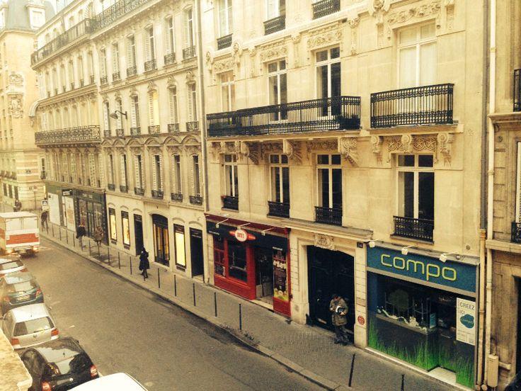 Parigi dalla finestra Francia