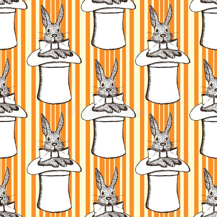 """Résultat de recherche d'images pour """"lapin chapeau magicien vintage"""""""
