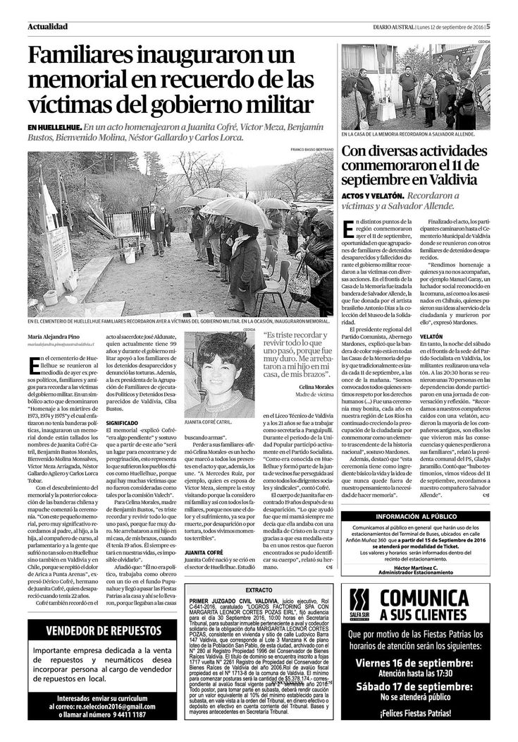 Página 5 | australvaldivia.cl - El Austral de Los Ríos - Valdivia, Chile