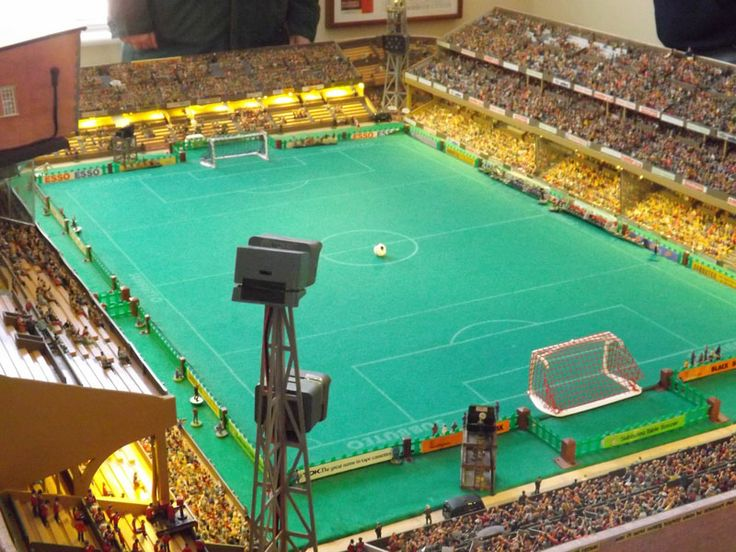 Subbuteo - at the Stadium of Fingers... My childhood friends and I played Football games all the time