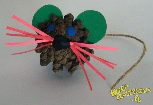 Muis knutselen met kleuters