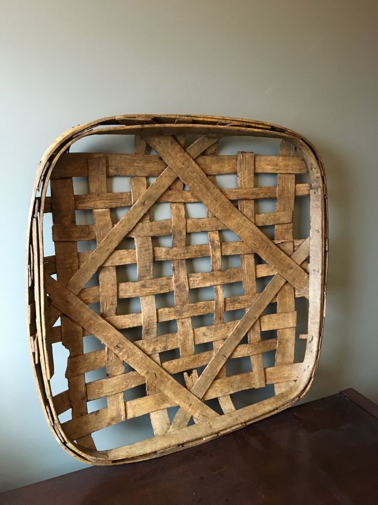Blog » As long as we've been collecting found objects I've been captivated by tobacco baskets.