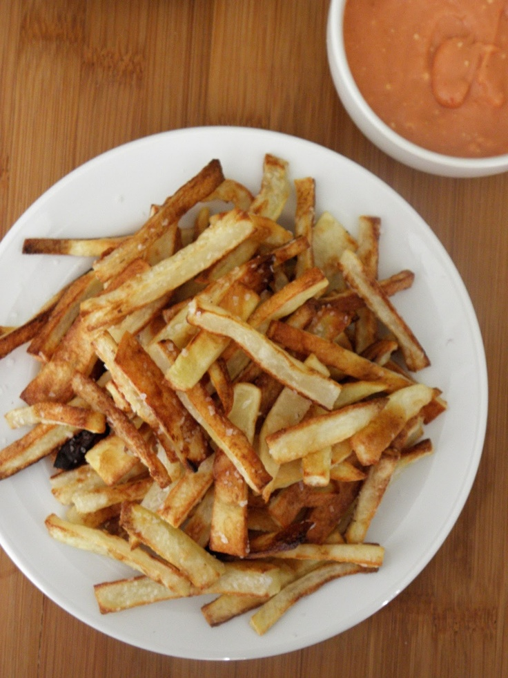 Cinnamon Freud: Oven Baked French Fries