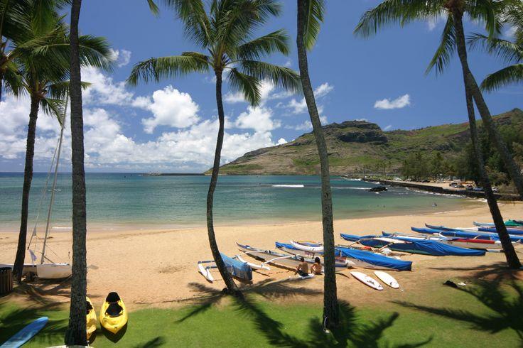 Kalapaki Beach in Lihue, island of Kauai