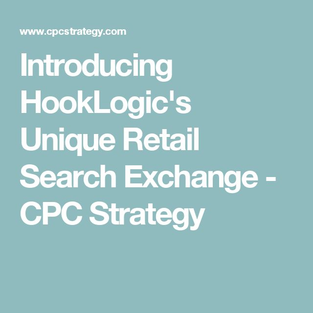 Introducing HookLogic's Unique Retail Search Exchange - CPC Strategy