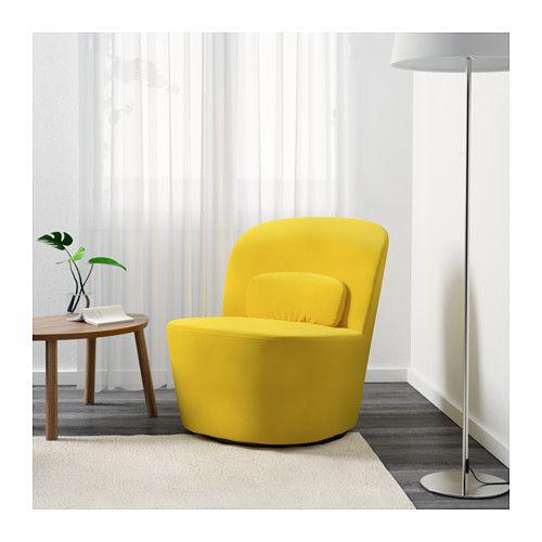 СТОКГОЛЬМ Вращающееся кресло - Сандбакка желтый - IKEA