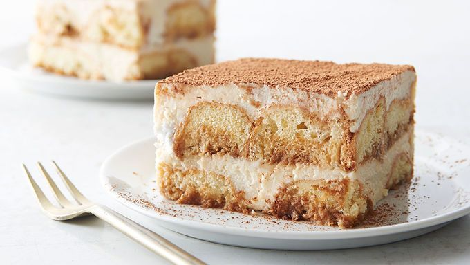 Donut Tiramisu - Note:  easy substitution for hard to find Mascarpone:  16 oz cream cheese, 1/3 c sour cream, 1/4 c heavy whipping cream - blended