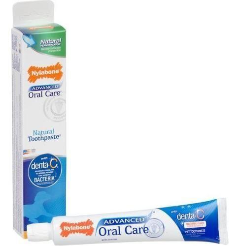 Nylabone Dental Oral Care Natural Toothpaste for D…