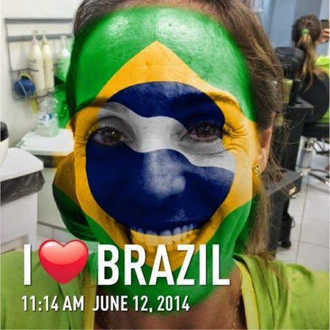 Com @ Gigi por aí...: APP GRÁTIS -Flag Face