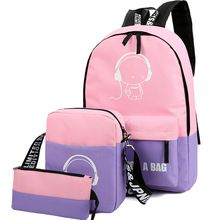 Like and Share if you want this  Brand Backpack Set girl Luminous Women Backpacks Nylon School Bags Fluorescence Backpack for Teenager Book Bag Mochila Light Bag     Tag a friend who would love this!     FREE Shipping Worldwide     Get it here ---> http://fatekey.com/brand-backpack-set-girl-luminous-women-backpacks-nylon-school-bags-fluorescence-backpack-for-teenager-book-bag-mochila-light-bag/    #handbags #bags #wallet #designerbag #clutches #tote #bag