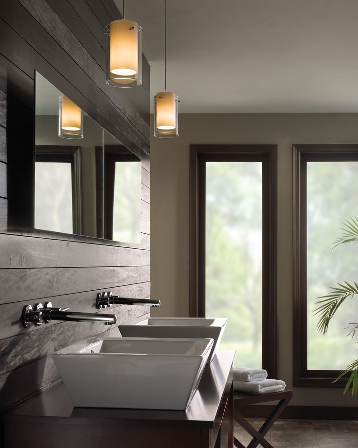 Echo pendant by tech lighting lighting pendant pendantlighting bath bathroom