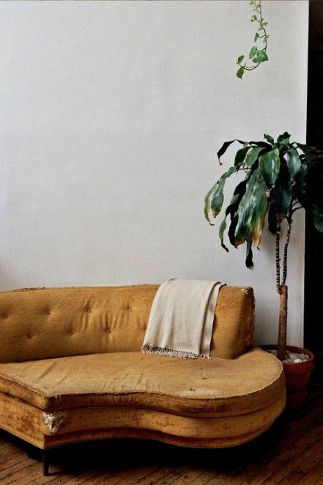 battered velvet (Jessica Barensfeld & Simon Howell): Grand Piano, Architecture Interiors, Interiors Design, Reading Chairs, Home Design, Furniture, Sit Rooms, Vintage Sofas, Curves Sofas