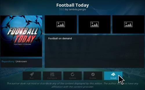 How To Install Football Today Addon Kodi 17-17-4 Step17