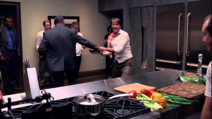 Hannibal: Season 2 Premiere: Behind the Scenes of the Fight - Laurence Fishburne, Mads Mikkelsen