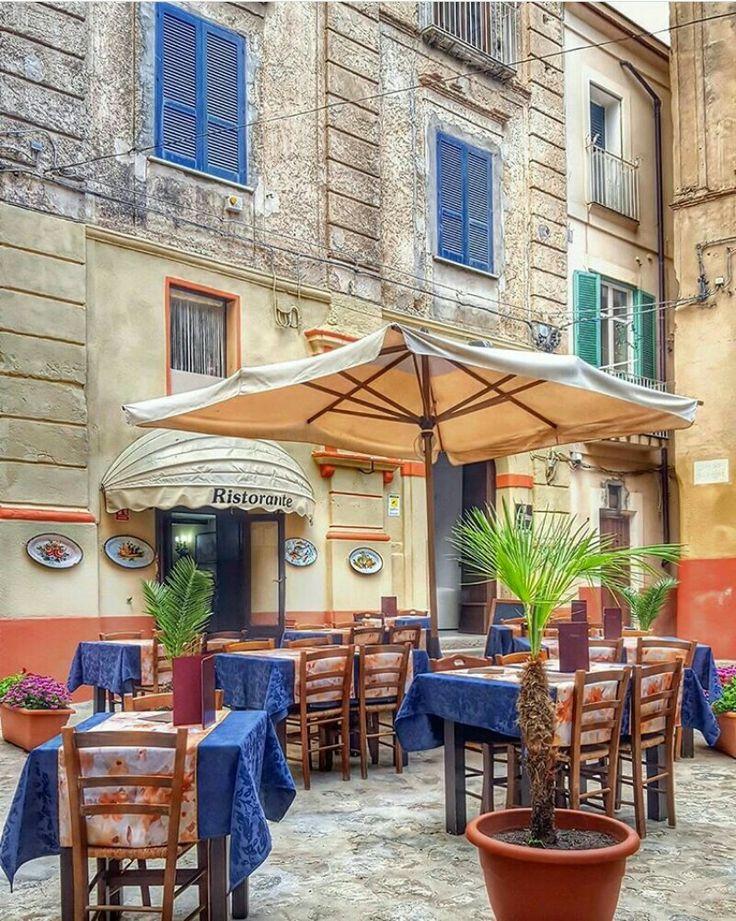 Tropea Italy Tropea italy, Italy, Sidewalk cafe