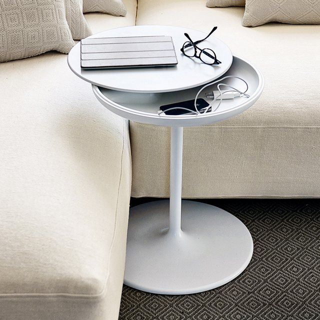 I grew up with the originals, my mom gave a thumbs up for storage.  Fancy - Toi Table by Salvatore Indriolo