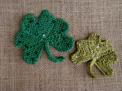 Knit your own Shamrock!