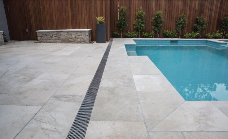 What are your thoughts on these merino marble pavers? Visit our website to learn the various characteristics of each stone and receive individual assistance in choosing just the right product to beautify your home and garden.  #marblepavers #limestonepavers