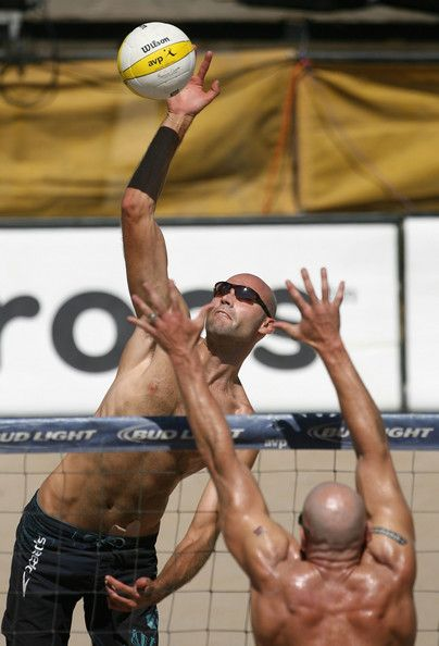 Phil Dalhausser of the US Olympic volleyball team