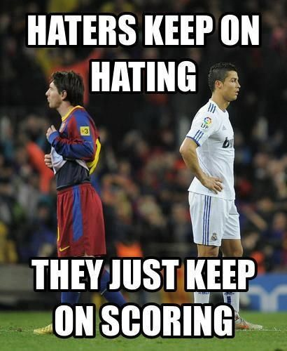 Famous Soccer Quotes Messi Ronaldo quotes about messi