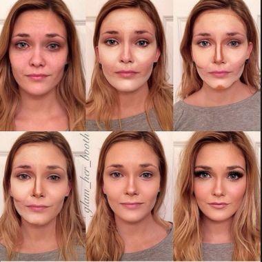 maquillaje para cara alargada paso a paso