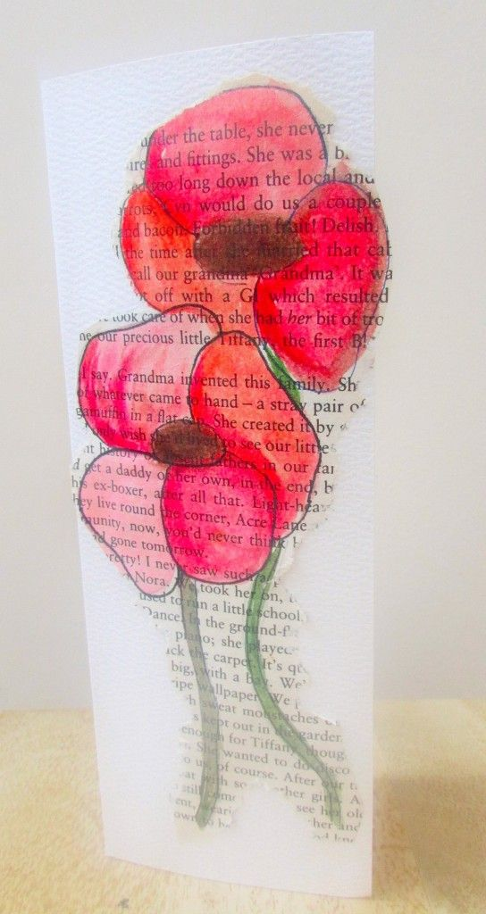 Craft Ideas for Kids - Watercolour Poppy Remembrance Day Card                                                                                                                                                                                 More