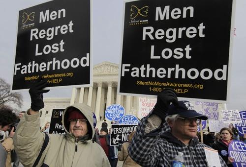 men regret abortion too
