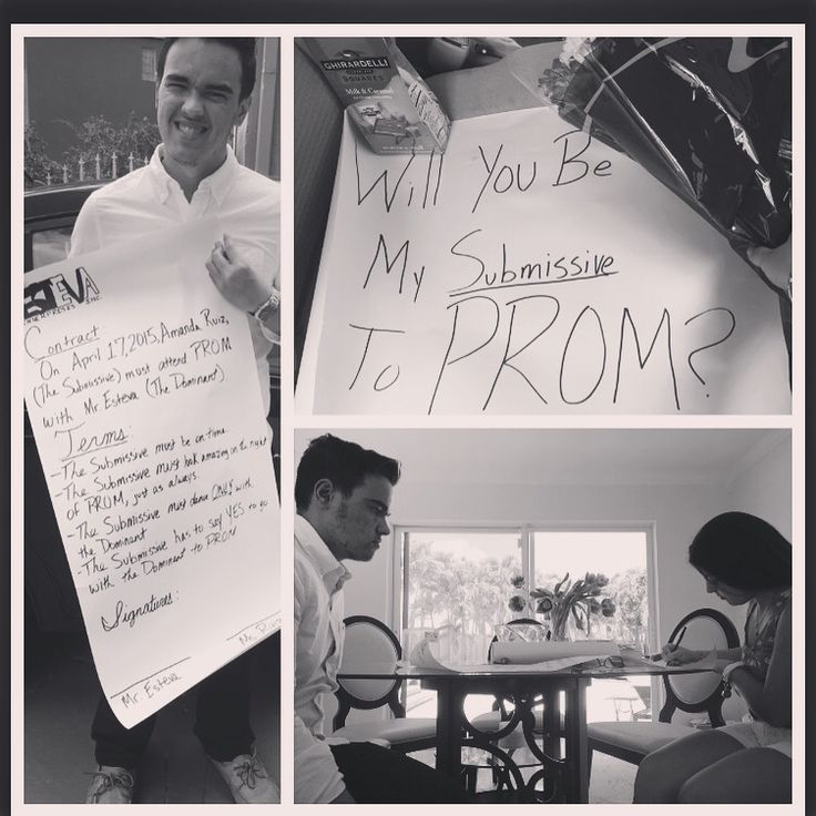 best prom images dance proposal formal  50 shades of grey promposal