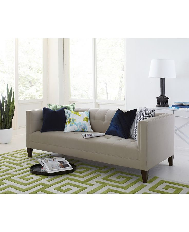 Briel Tufted Tight Back & Seat Sofa Collection - Furniture - Macy's