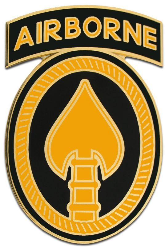 U.S. ARMY ELEMENT SPECIAL OPERATIONS COMMAND, COMBAT SERVICE IDENTIFICATION BADGE